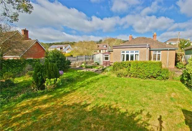 2 Bedrooms Detached Bungalow for sale in WELLS, Somerset