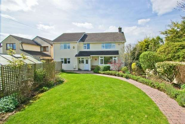 4 Bedrooms Detached House for sale in Prestleigh Road, Evercreech, Somerset
