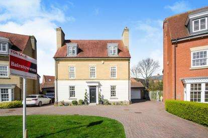 5 Bedrooms Detached House for sale in Highwoods, Colchester, Essex