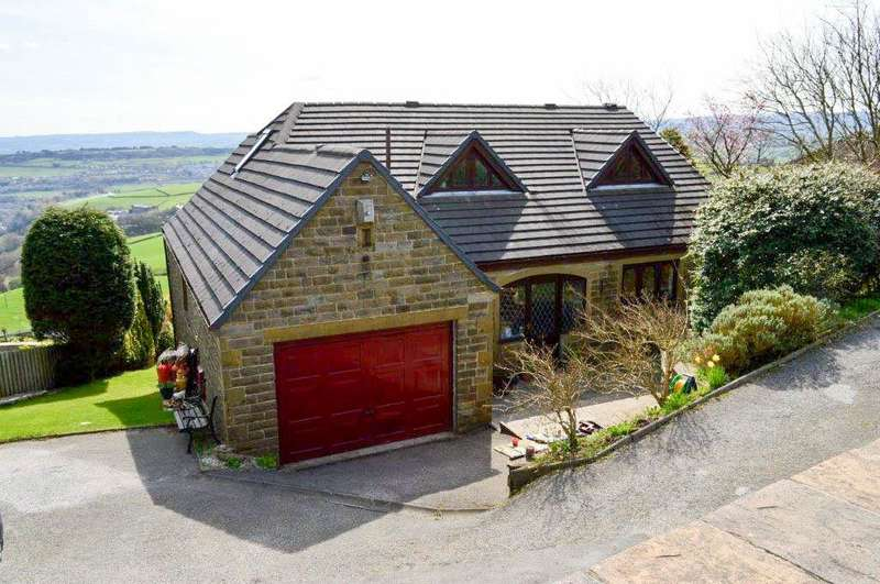 6 Bedrooms Detached House for sale in Slaithwaite Gate, Scapegoat Hill, Golcar, Huddersfield, HD7 4NS