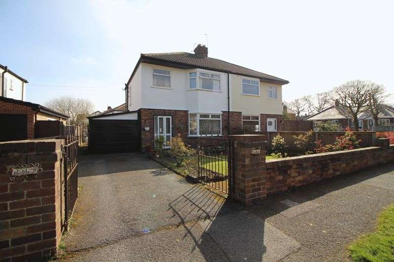 3 Bedrooms Semi Detached House for sale in Uplands Road, Bromborough