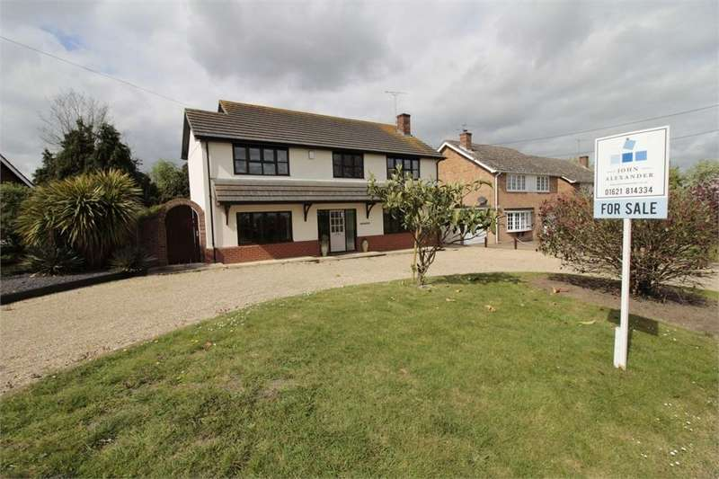 4 Bedrooms Detached House for sale in Harborough Hall Lane, Messing, Essex