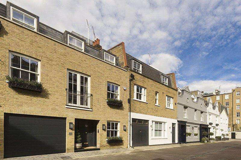 3 Bedrooms Terraced House for sale in Clabon Mews, Knightsbridge, London, SW1X