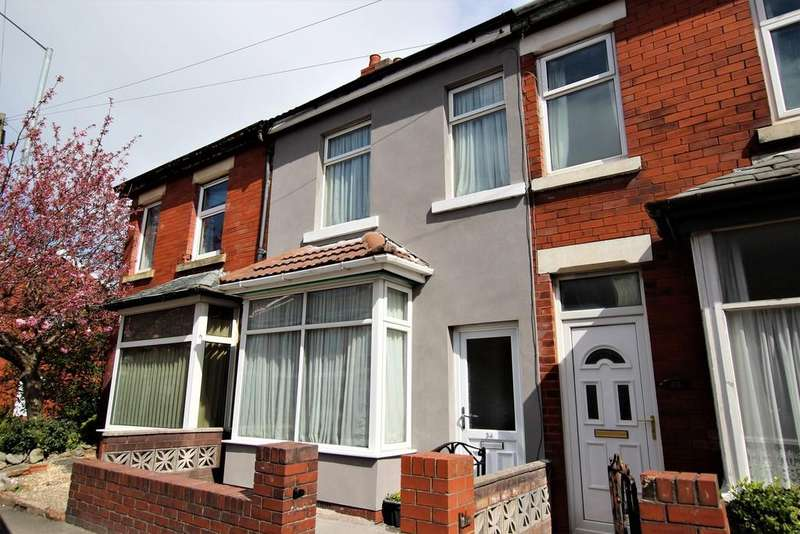 2 Bedrooms Terraced House for sale in Trunnah Road, Cleveleys