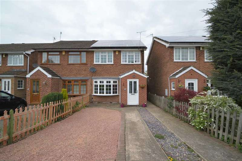3 Bedrooms Semi Detached House for sale in Templeman Close, Ruddington, Nottingham