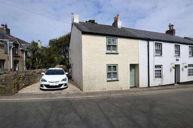 2 Bedrooms End Of Terrace House for sale in Tyringham Road, Lelant, St. Ives, Cornwall