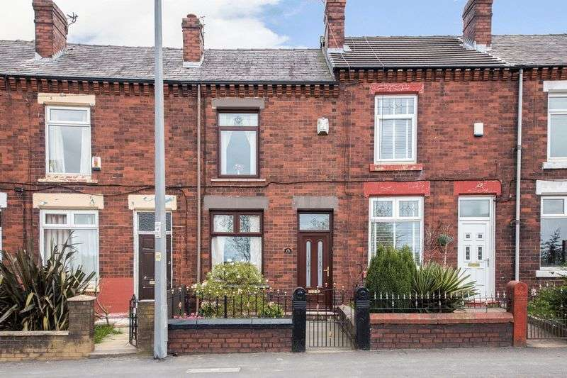 2 Bedrooms Terraced House for sale in Warrington Road, Abram
