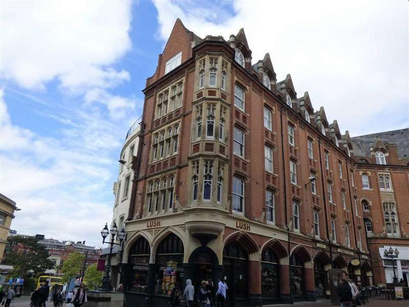 2 Bedrooms Flat for sale in Post Office Road, Bournemouth, Dorset, BH1