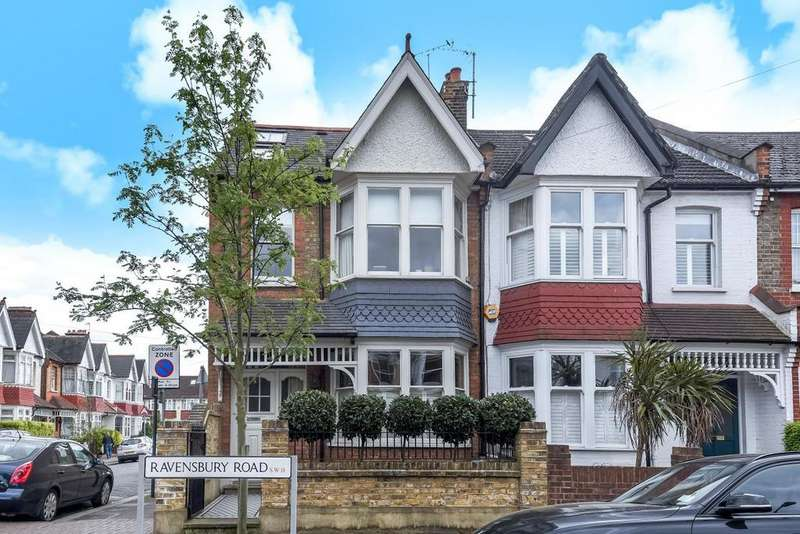 3 Bedrooms Terraced House for sale in Ravensbury Road, Earlsfield, SW18
