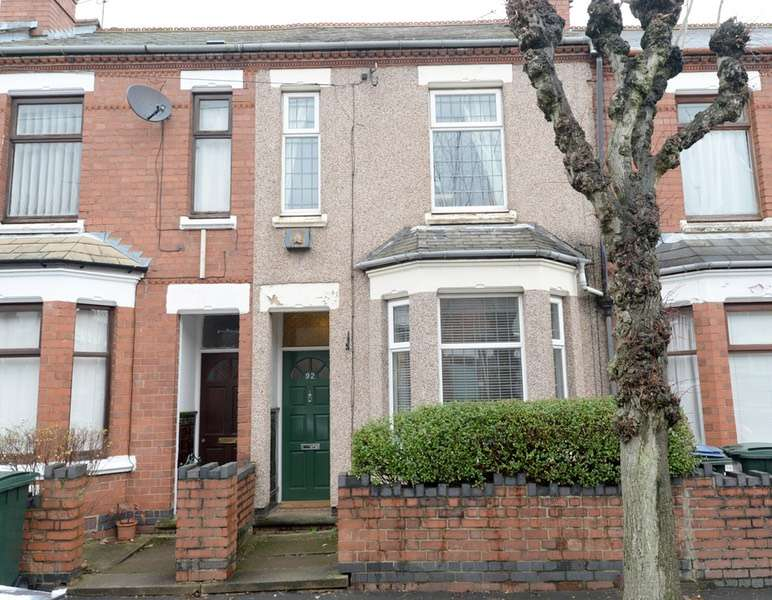 2 Bedrooms Terraced House for sale in Hugh Road, Coventry, West Midlands, CV3