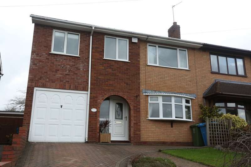 4 Bedrooms Semi Detached House for sale in Leveson Avenue, Walsall, West Midlands, WS6