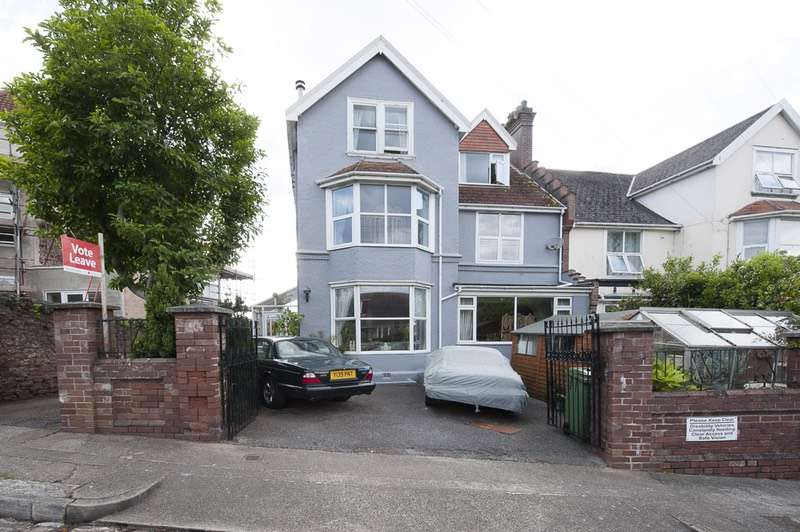 5 Bedrooms Semi Detached House for sale in St.Andrews Road, paignton, Devon, TQ4