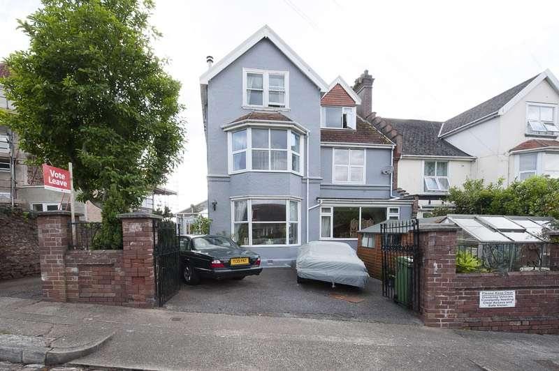 5 Bedrooms Semi Detached House for sale in St.Andrews Road, paignton, Devon, TQ4