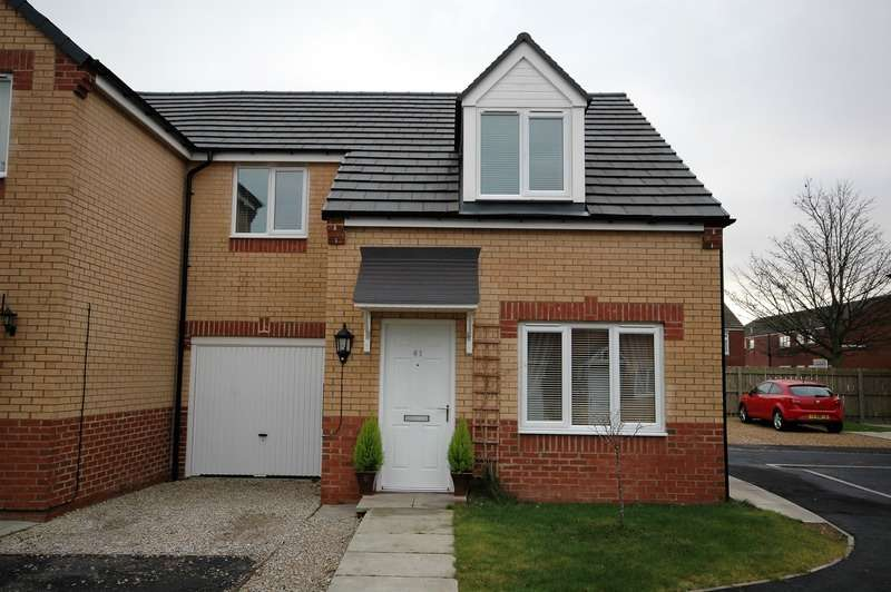 3 Bedrooms Semi Detached House for sale in Dormand court, Wingate, County Durham, TS28