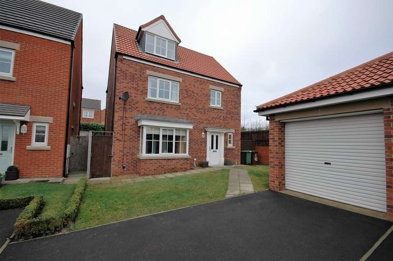 4 Bedrooms Detached House for sale in Silverbirch Road, Hartlepool, County Durham, TS26