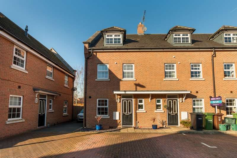 3 Bedrooms End Of Terrace House for sale in Frederick Place, St. Albans, Hertfordshire, AL2