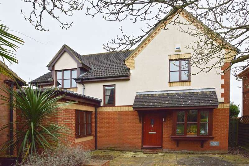 4 Bedrooms Detached House for sale in Walkhampton Avenue, Milton Keynes, Buckinghamshire, MK13