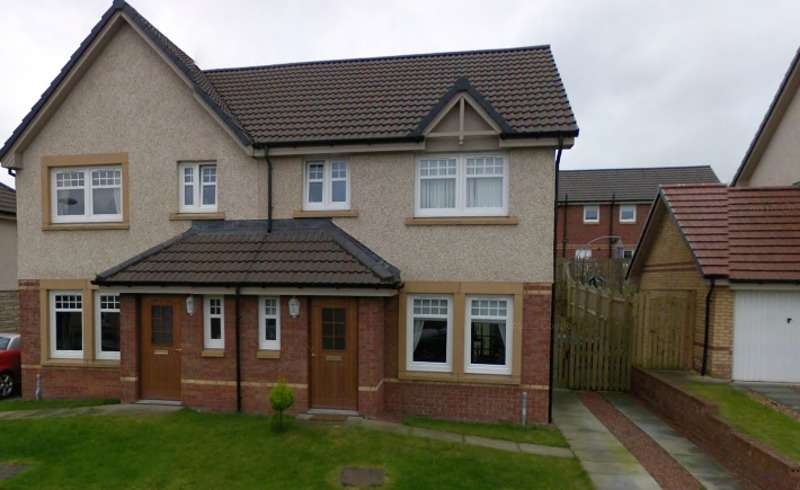 3 Bedrooms Semi Detached House for sale in McMahon Drive, Wishaw, Lanarkshire, ML2