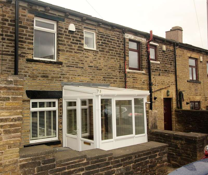 2 Bedrooms Terraced House for sale in Belle Vue Terrace, Southowram, Halifax
