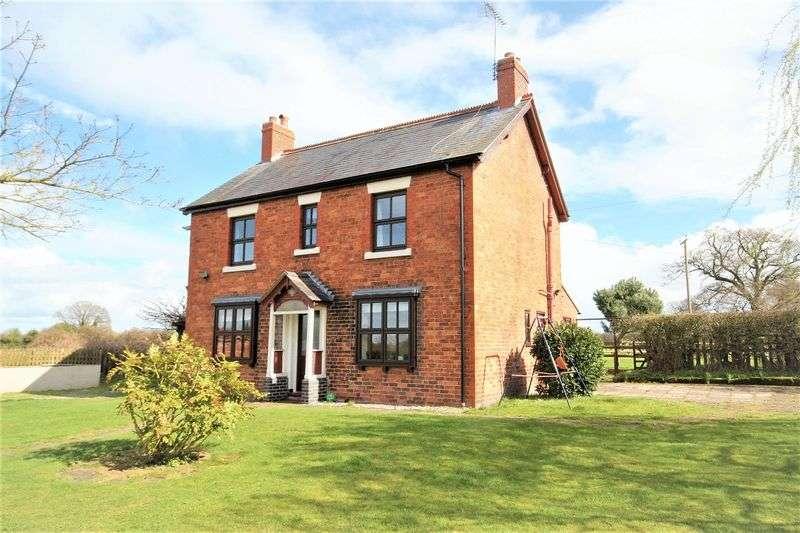 3 Bedrooms Detached House for sale in Nook Lane, Weston-Under-Redcastle