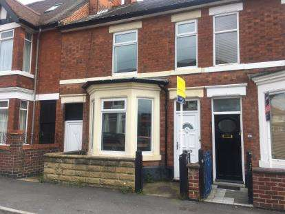 3 Bedrooms Terraced House for sale in Livingstone Road, Derby, Derbyshire