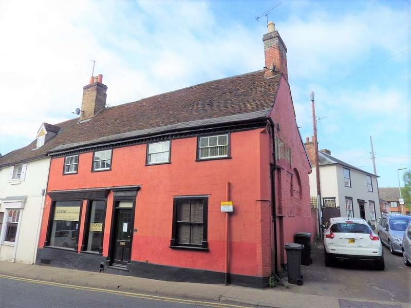 2 Bedrooms Retail Property (high Street) Commercial for sale in Bury Street, Stowmarket IP14