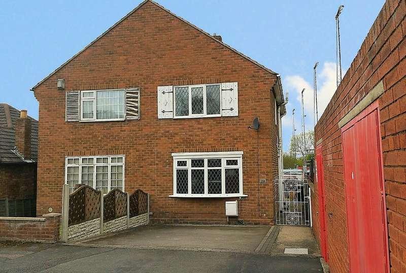 2 Bedrooms Semi Detached House for sale in Cross Street, Kettlebrook, Tamworth, B77 1AJ
