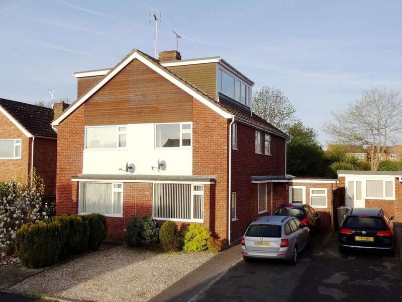 4 Bedrooms Semi Detached House for sale in Claremont Drive, Taunton