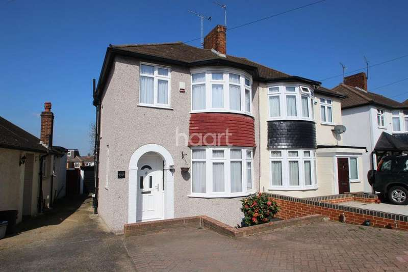 3 Bedrooms Semi Detached House for sale in Caterham Avenue, Clayhall