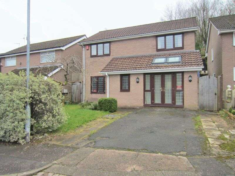 4 Bedrooms Detached House for sale in Kestrel Close Cyncoed CF23 7HH