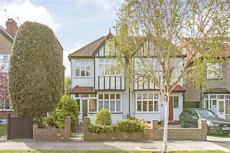 3 Bedrooms Semi Detached House for sale in Poplar Road, London, SW19