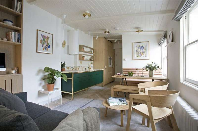 1 Bedroom Flat for sale in St. Marks Place, Notting Hill W11