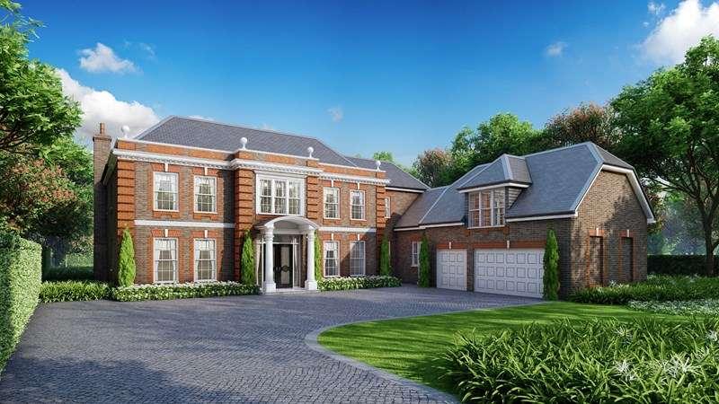 6 Bedrooms Detached House for sale in Fairmile Avenue, Cobham