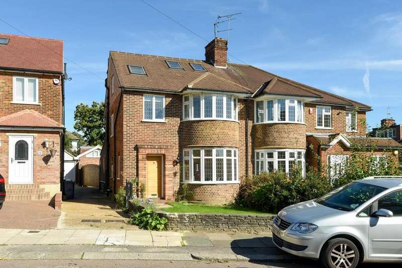 5 Bedrooms Semi Detached House for sale in Linkside, Woodside Park, N12