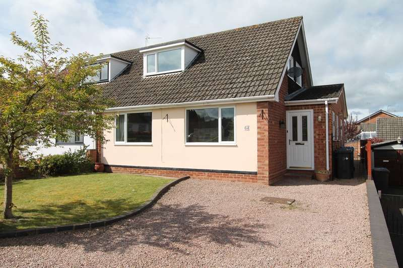 3 Bedrooms Semi Detached Bungalow for sale in Church View Gardens, Kinver, Stourbridge, DY7