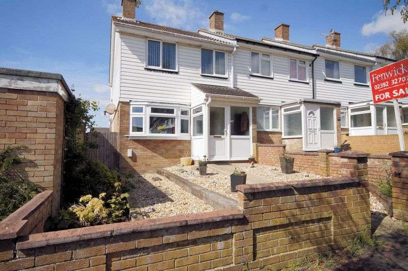3 Bedrooms Terraced House for sale in Dore Avenue, Portchester, Fareham, PO16