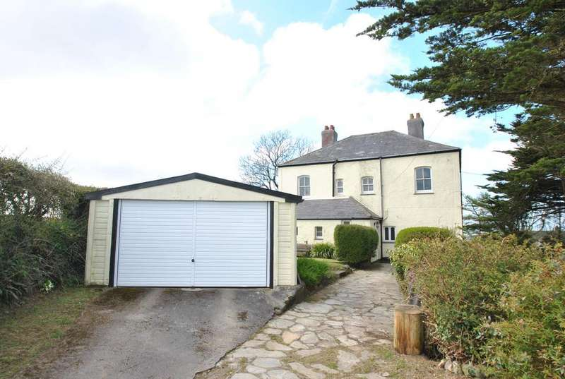 4 Bedrooms Detached House for sale in Rosecare, St. Gennys