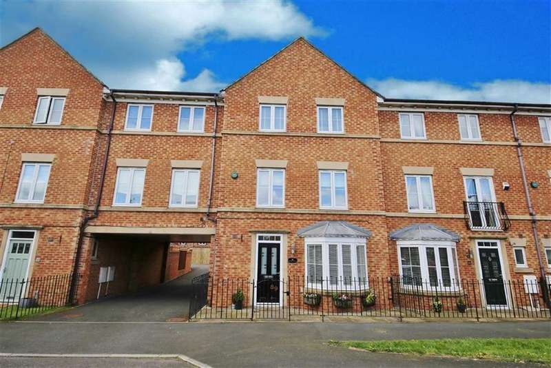 5 Bedrooms Town House for sale in Aylesford Mews, Greystoke Manor, Sunderland, SR2