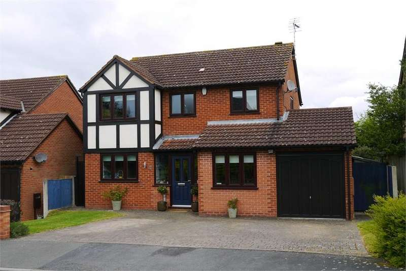 4 Bedrooms Detached House for sale in Knighton Close, Broughton Astley, Leicester