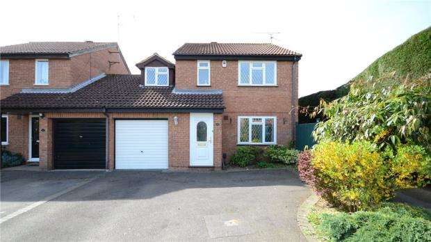 4 Bedrooms Link Detached House for sale in Newmarket Close, Lower Earley, Reading