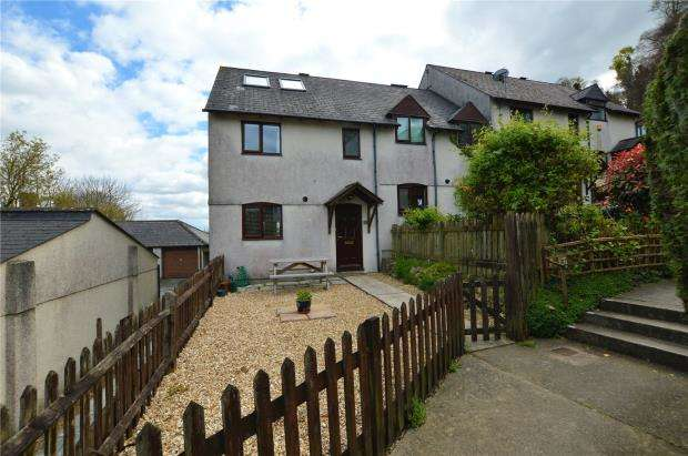 4 Bedrooms End Of Terrace House for sale in Grantham Close, Plymouth, Devon