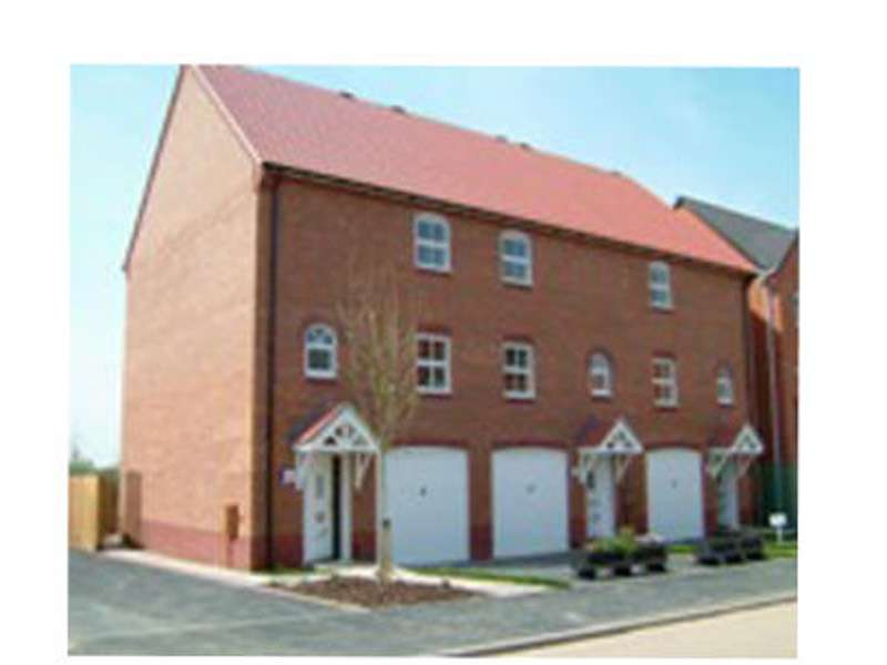 3 Bedrooms Town House for sale in Staples Drive, Coalville, Leicestershire, LE67