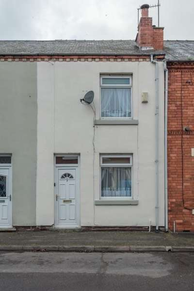 2 Bedrooms Terraced House for sale in Catherine street, Alfreton, Derbyshire, DE55