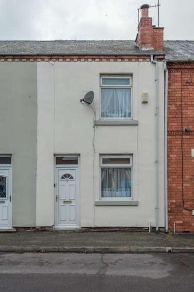 2 Bedrooms Terraced House for sale in Catherine street, Alfreton, Derbyshire, DE55