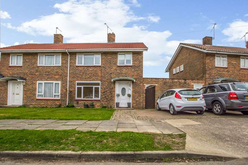 3 Bedrooms Semi Detached House for sale in OXFORD ROAD, CRAWLEY, West Sussex, RH10
