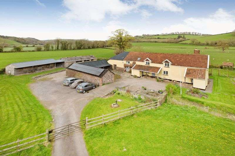 4 Bedrooms Detached House for sale in Near Silverton, Exeter