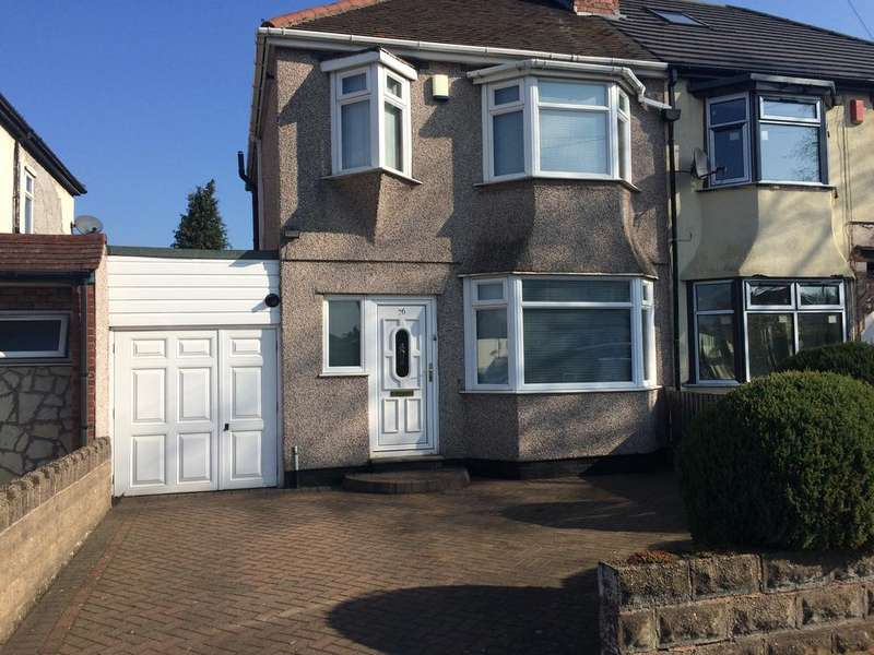 3 Bedrooms Semi Detached House for sale in Morris Road, Ward End, Birmingham B8