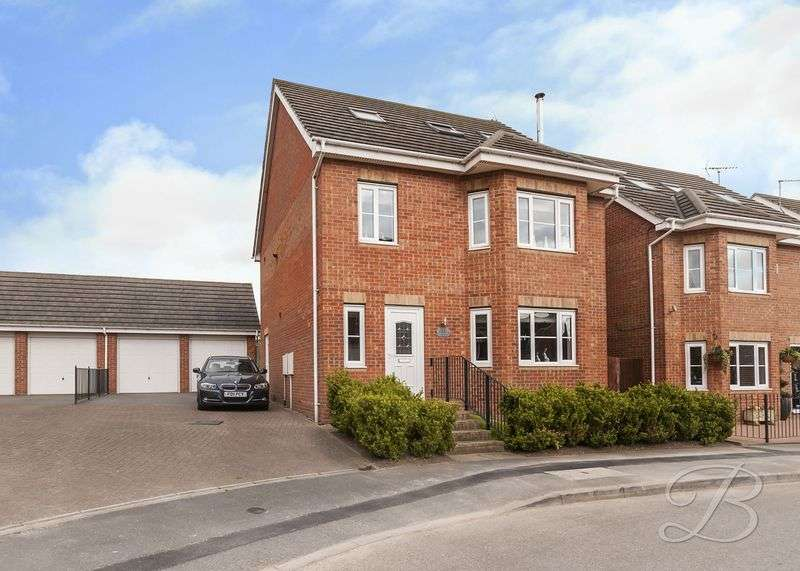 4 Bedrooms Detached House for sale in Waterfield Way, Clipstone Village