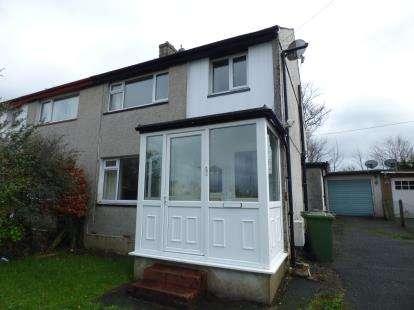 3 Bedrooms Semi Detached House for sale in Y Rhos, Bangor, Gwynedd, LL57