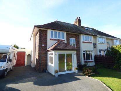4 Bedrooms Semi Detached House for sale in Treforris Road, Dwygyfylchi, Penmaenmawr, LL34